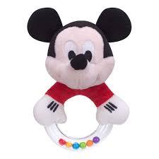 Chocalho Argola Mickey Disney Baby - Buba