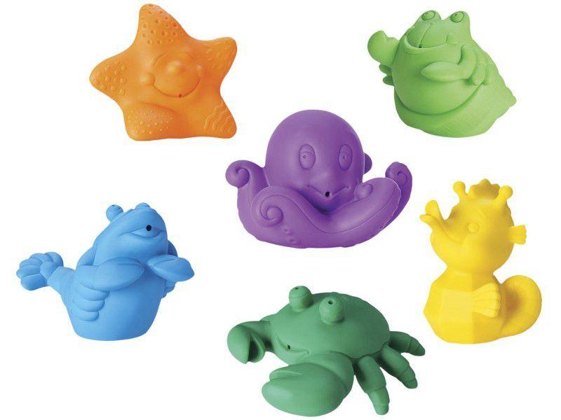 Coleção Bichinhos Frutos do Mar - Roma Brinquedos