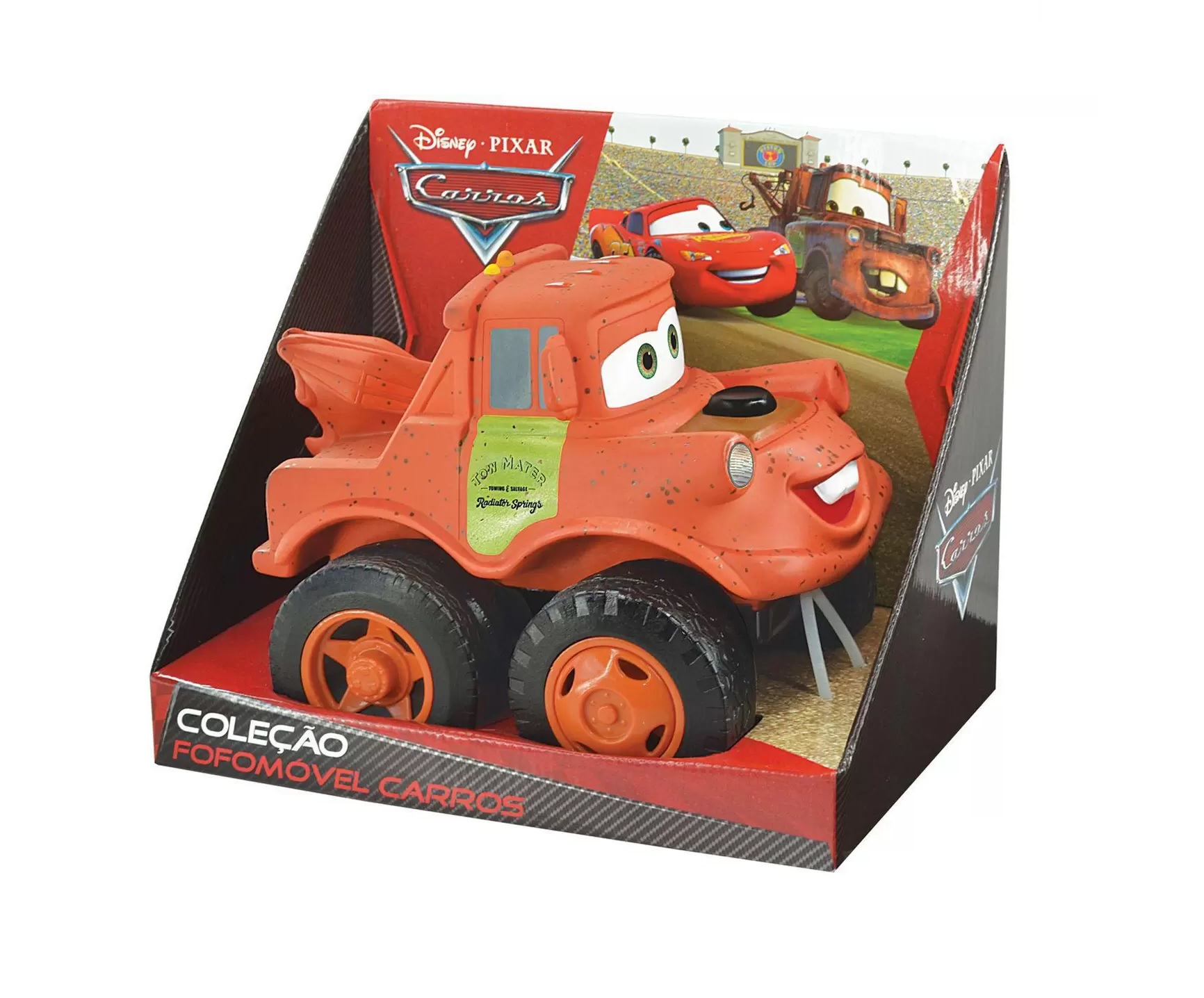 Coleção Fofomóvel Disney Pixar Carros Tow Matter - Lider Brinquedos