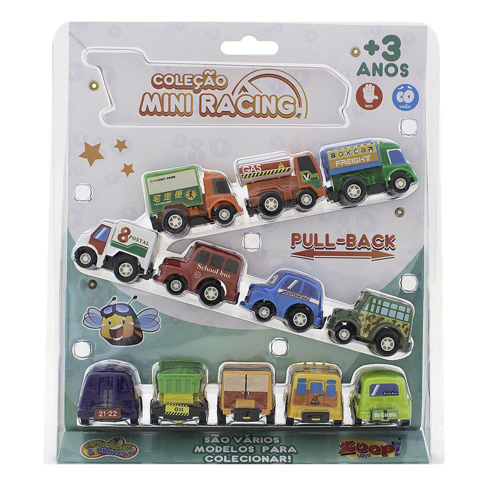 Coleção Mini Racing Modelos e Cores Sortidas - Zoop Toys
