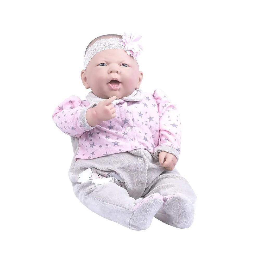 Coleção Ninos Reborn Sons de Bebê Boca Aberta - Cotiplás