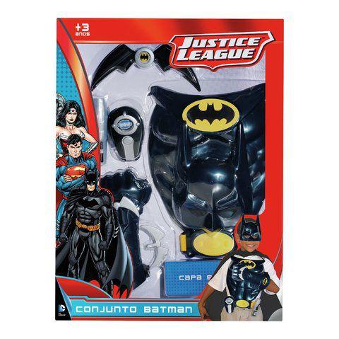 Conjunto Batman Liga da Justiça Novabrink - Rosita