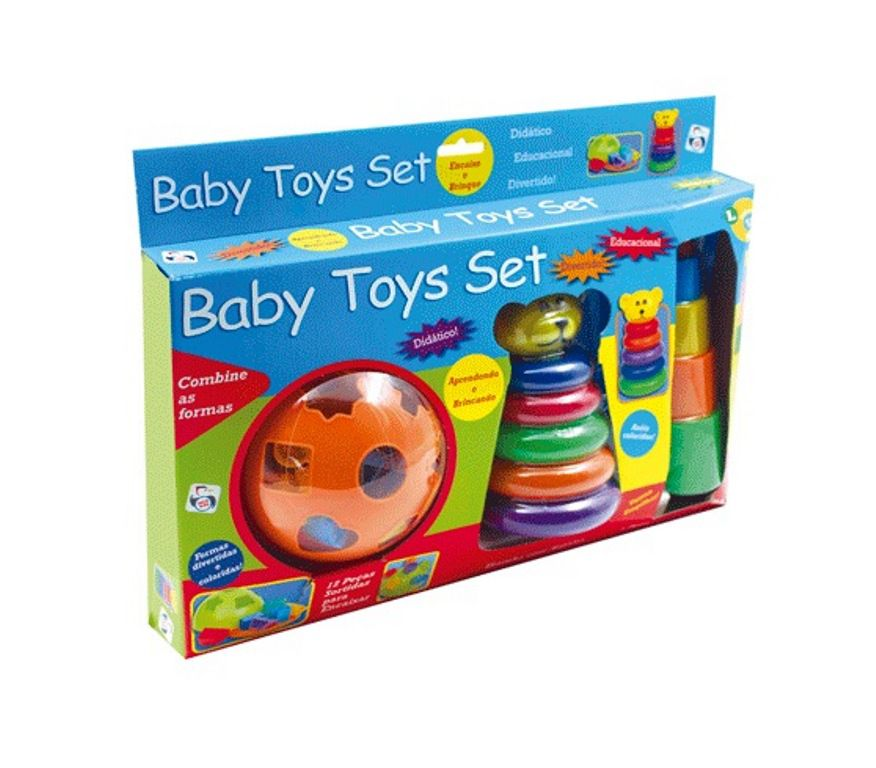 Conjunto de Brinquedos do Bebê Sortidos - Pica Pau