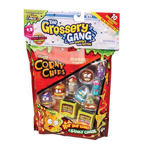 Corny Chips The Grossery Gang Malaguenta e Queijoxulezão - DTC