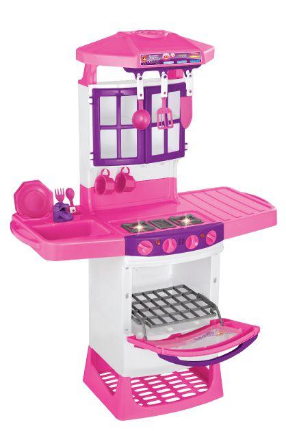 Cozinha Mágica Meg Rosa - Magic Toys