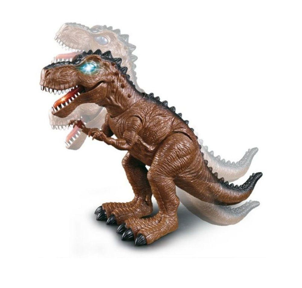 Dinossauro Tiranossauro Rex com Luz, Som e Movimento - DM Toys