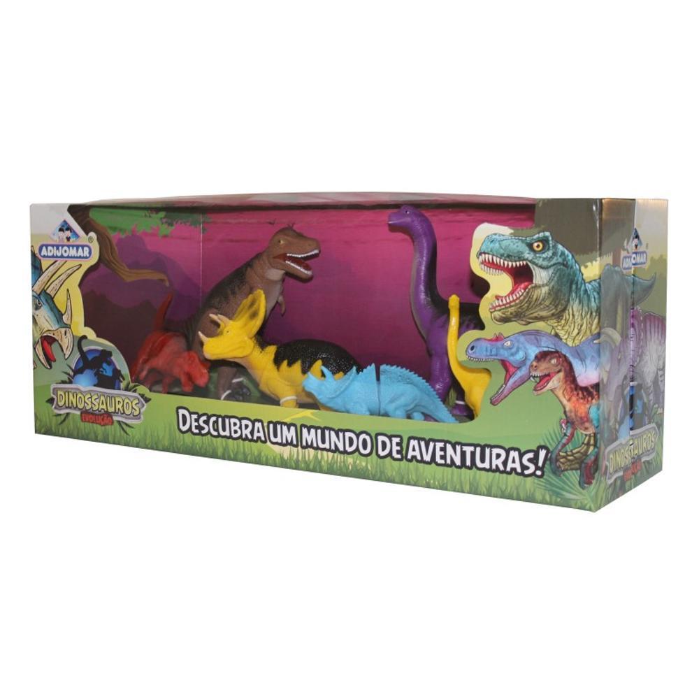 Dinossauros Evolução Descubra Um Mundo de Aventuras - Adijomar
