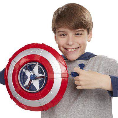 Escudo Lançador de Discos Avengers Capitão América - Hasbro