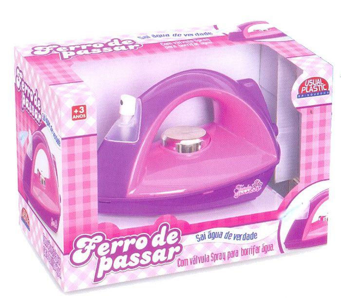 Ferro de Passar com Spray - Usual Brinquedos
