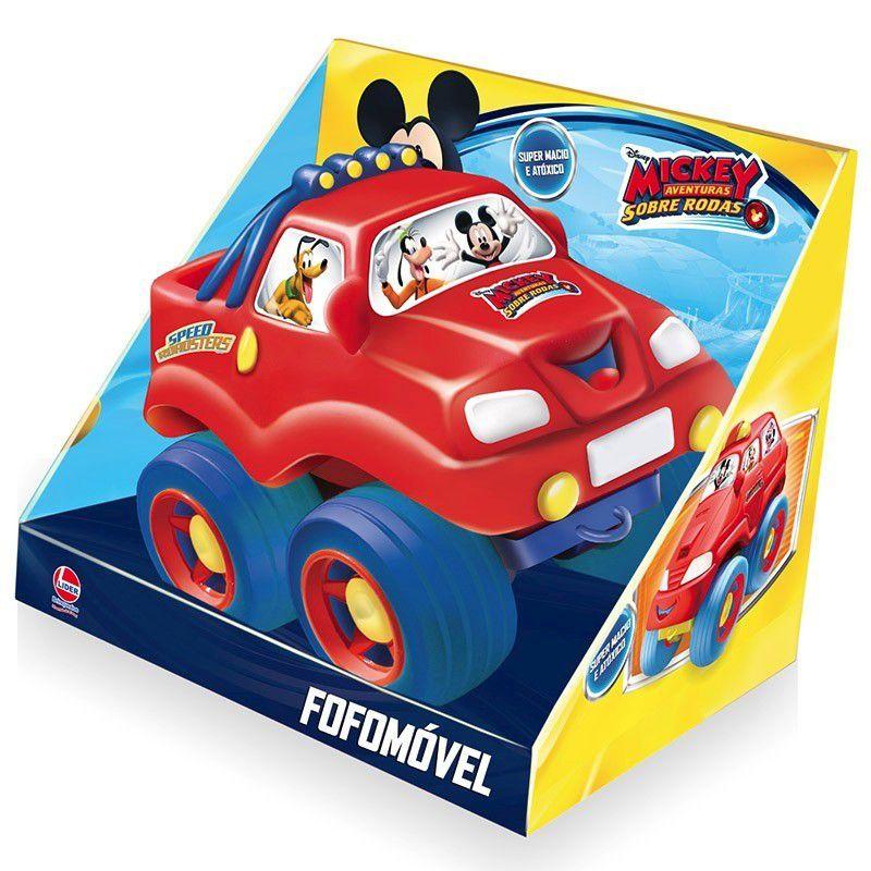 Fofomóvel Mickey Aventuras Sobre Rodas - Lider Brinquedos
