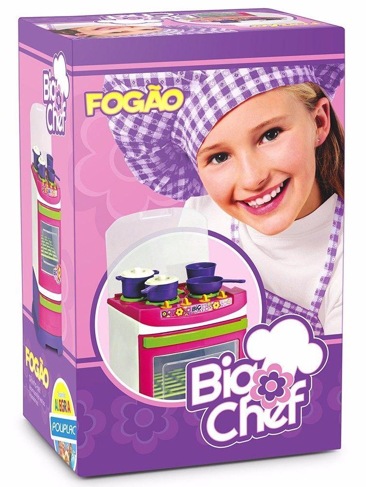 Fogão Big Chef - Poliplac