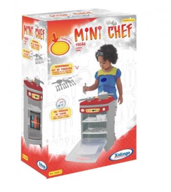 Fogão Mini Chef com Som - Xalingo