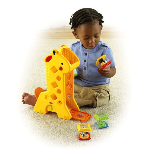 Girafa com Blocos - Fisher-Price