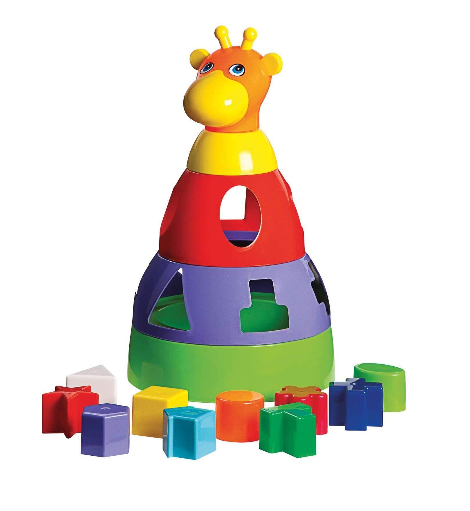 Girafa Didática Sortidos - Mercotoys Brinquedos
