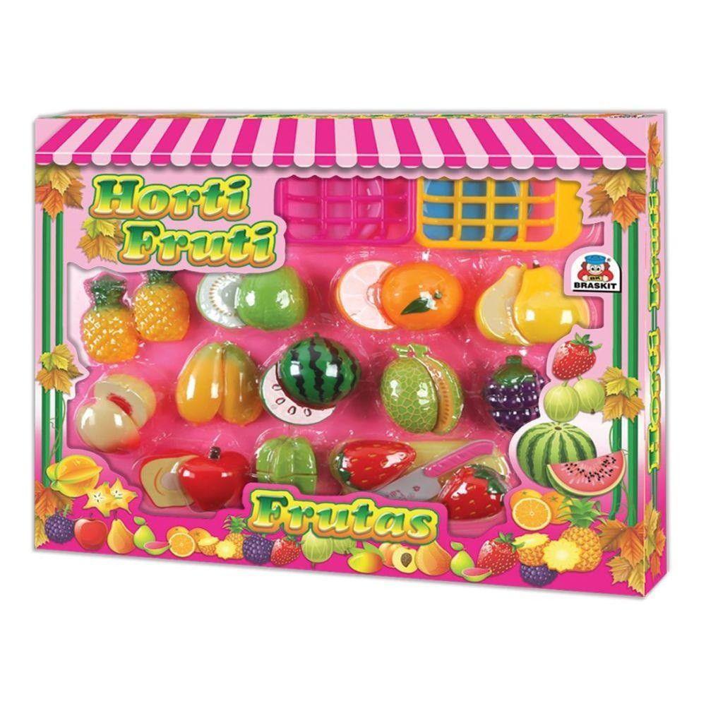 Horti Fruti Frutas com Velcro - Braskit