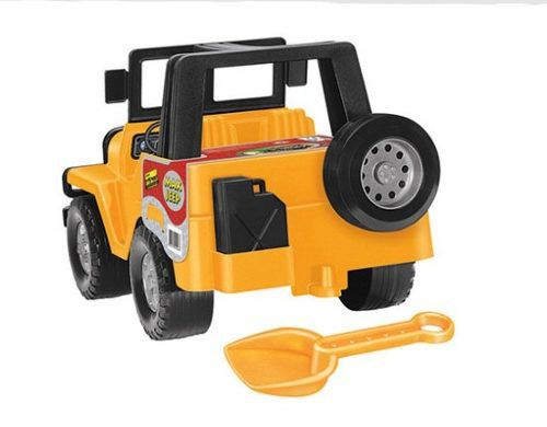 Jipe Max Jeep 4X4 Off Road Coleção Colosso - Tilin Brinquedos