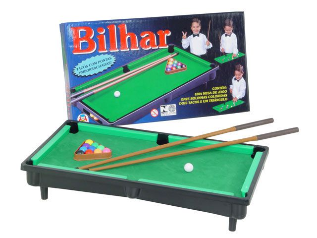 Jogo de Bilhar - Braskit