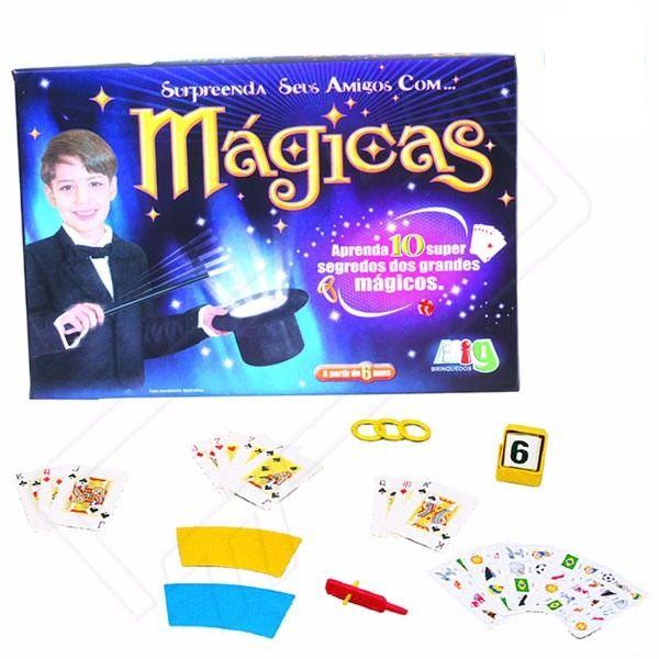 Jogo de Mágicas - Nig Brinquedos