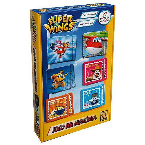 Jogo de Memória Super Wings - Grow