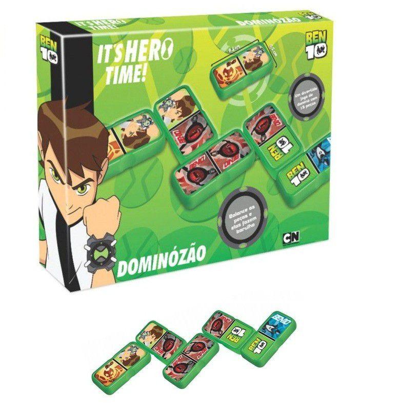 Jogo Dominózão Ben 10 - Lider Brinquedos