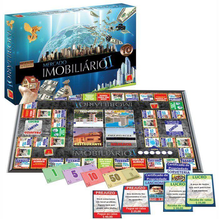 Jogo Mercado Imobiliário II - Algazarra