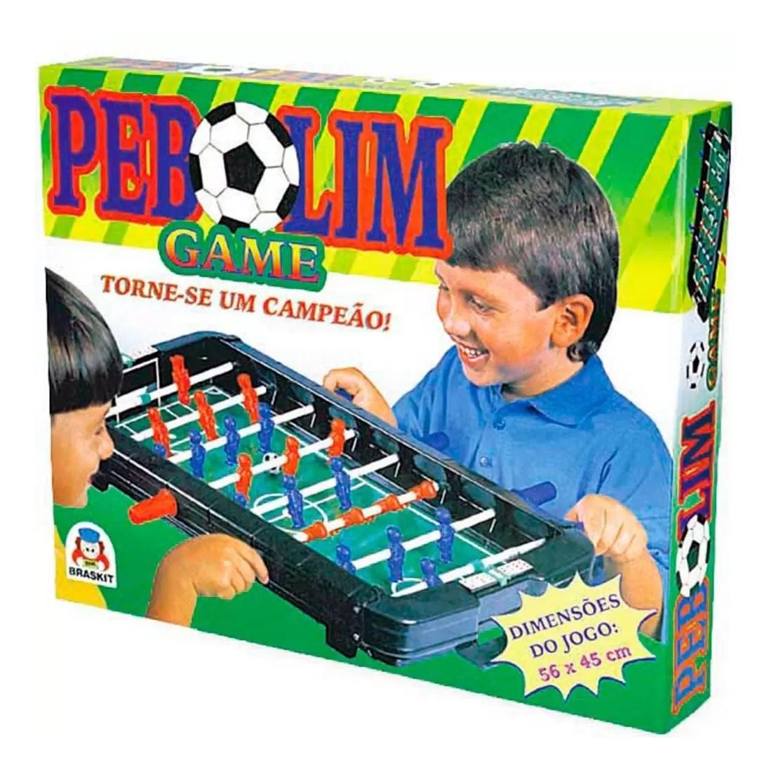 Jogo Pebolim Game - Braskit