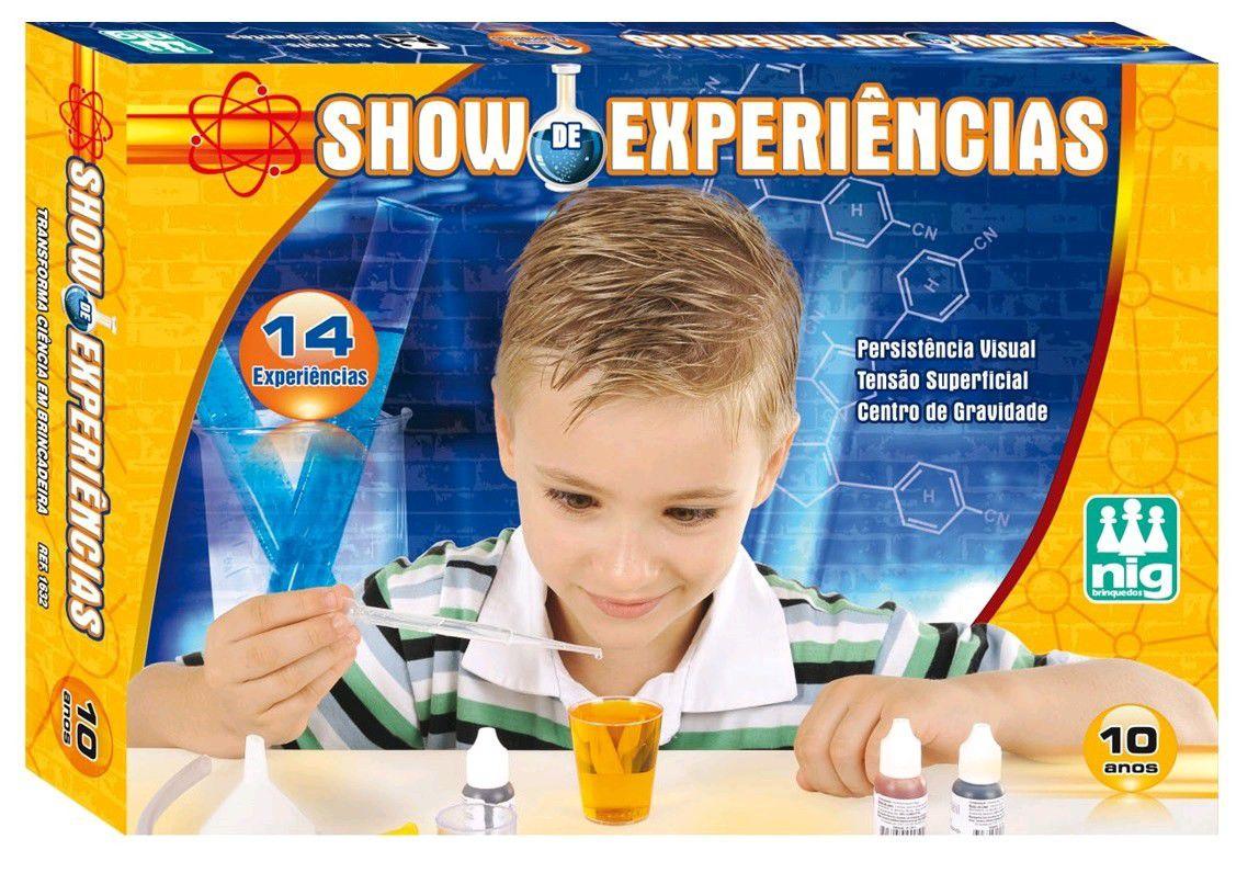 Jogo Show de Experiências - Nig Brinquedos