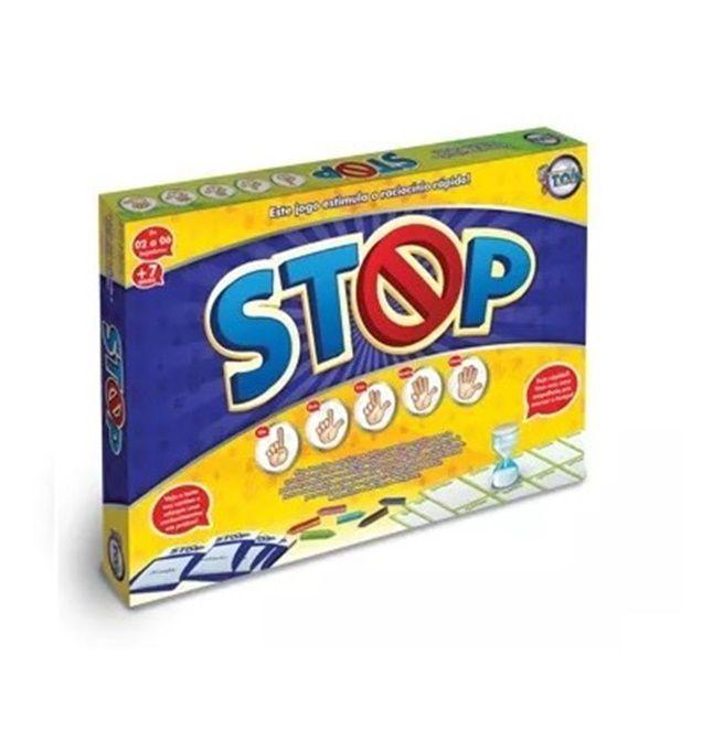 Jogo Stop - Toia Brinquedos