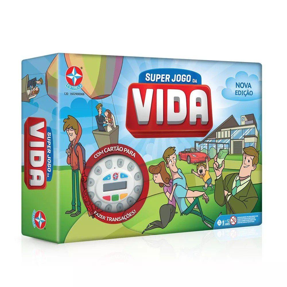 Jogo Super Jogo da Vida com Cartão de Débito e Crédito - Estrela