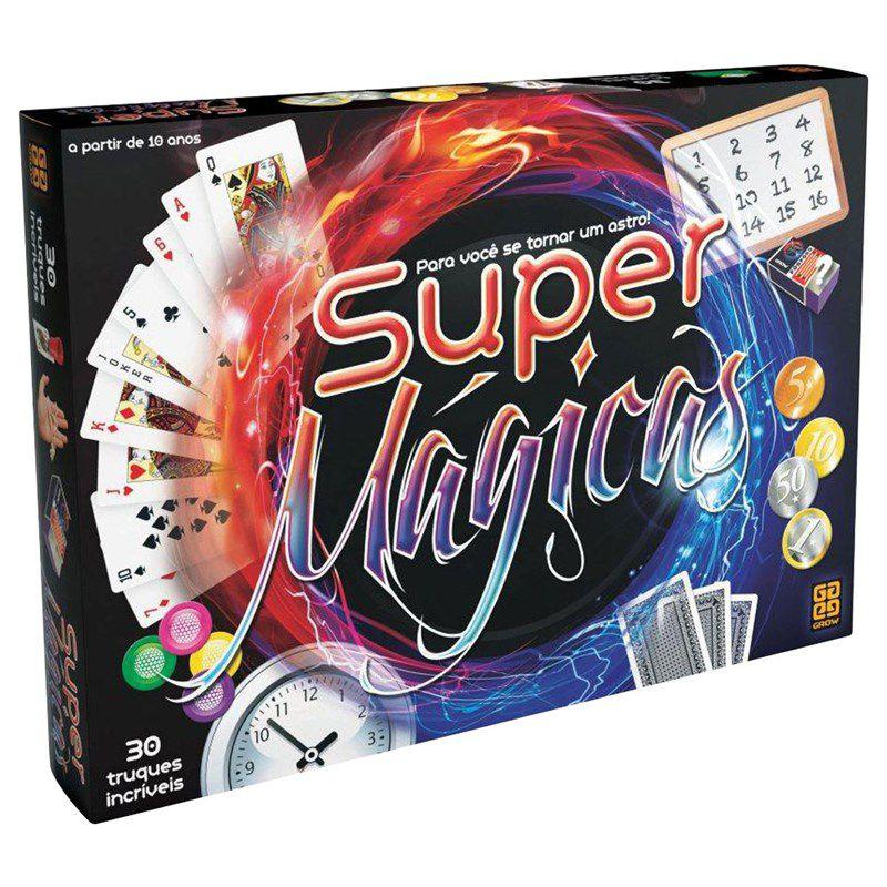 Jogo Super Mágicas - Grow