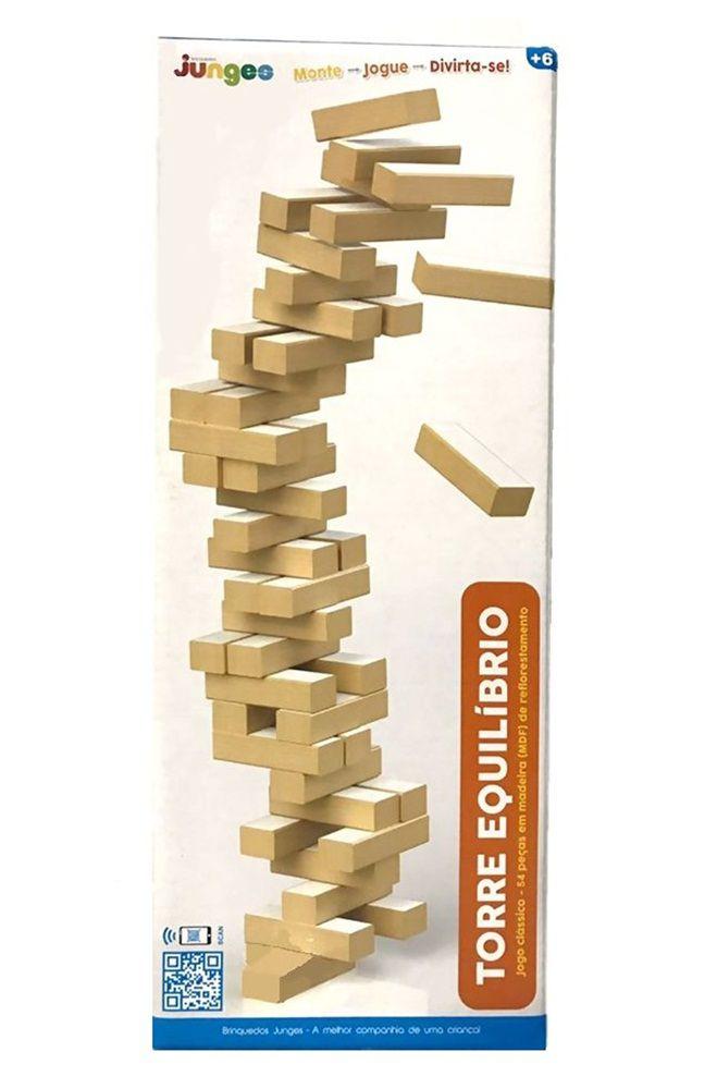 Jogo Torre Equilíbrio em Madeira - Junges