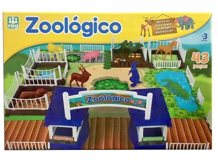 Jogo Zoológico - Nig Brinquedos