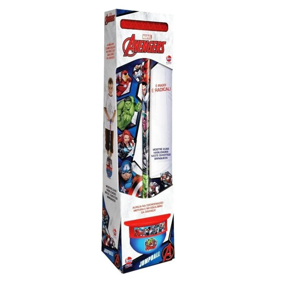 Jump Ball Marvel Avengers Sortidos - Lider Brinquedos