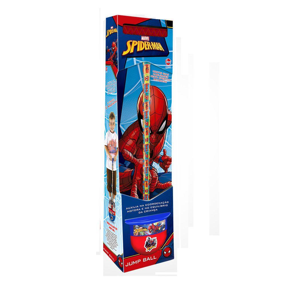 Jump Ball Marvel Spider Man - Lider Brinquedos