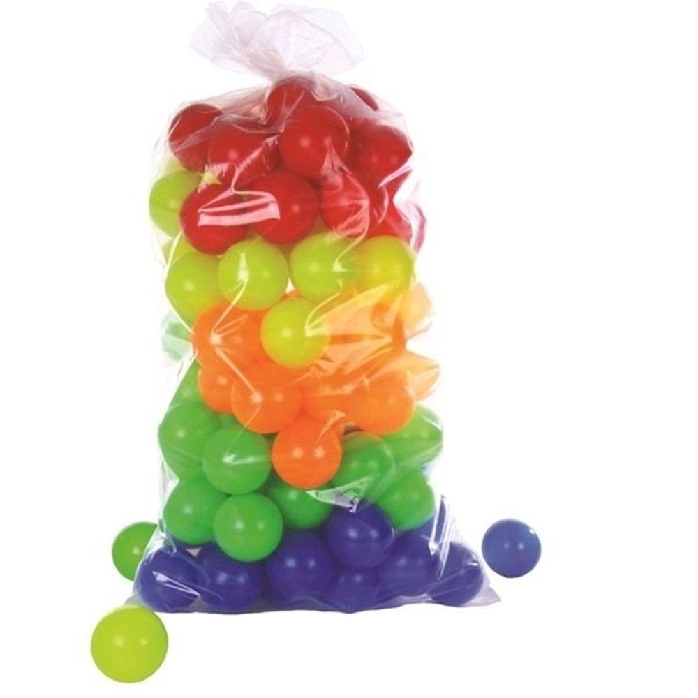 Kit com 100 Bolinhas Coloridas - Natalplast