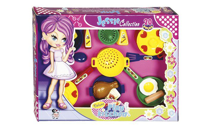 Kit Cozinha Deluxe Play Kitchen Jessie Collection - Pica Pau