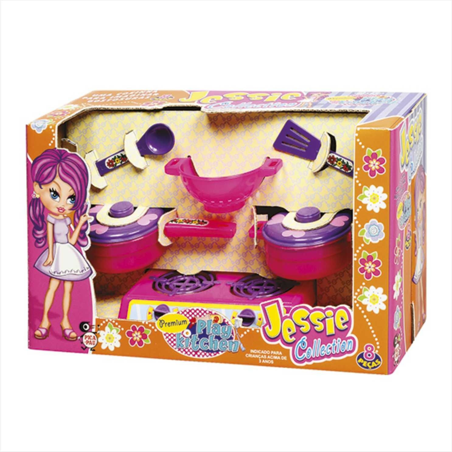 Kit Cozinha Premium Play Kitchen Jessie Collection - Pica Pau