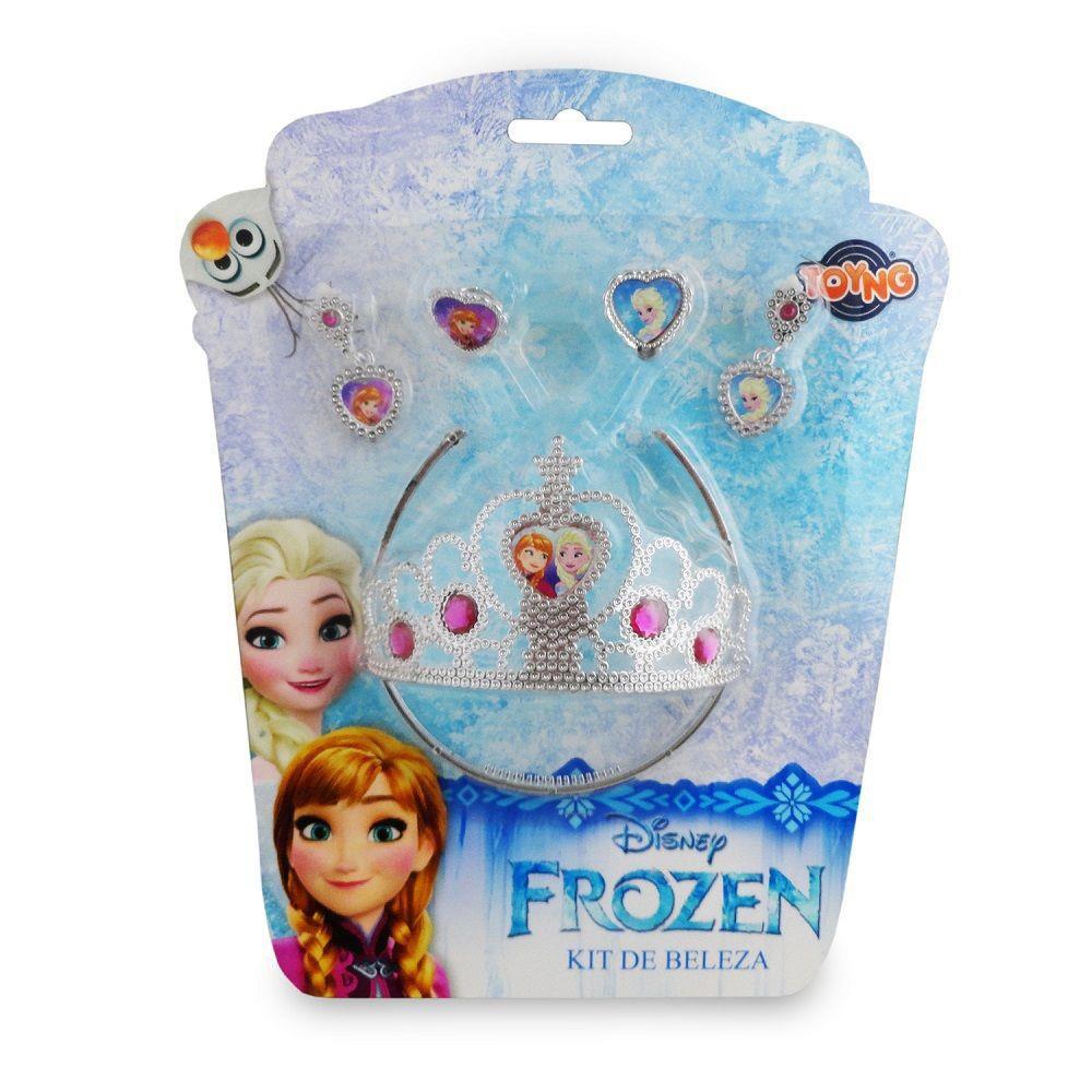 Kit de Beleza Cartela Frozen Disney - Toyng
