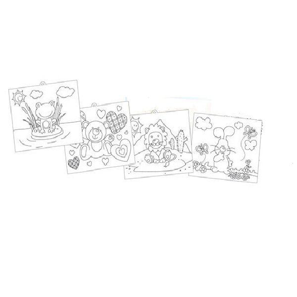 Kit de Pintura Pequeno Artista - Brincadeira de Criança