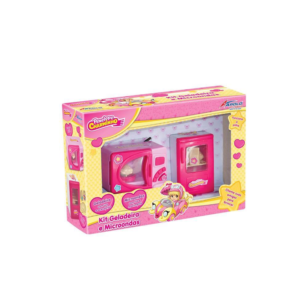 Kit Geladeira e Micro-ondas Penélope Charminho - Apolo Brinquedos