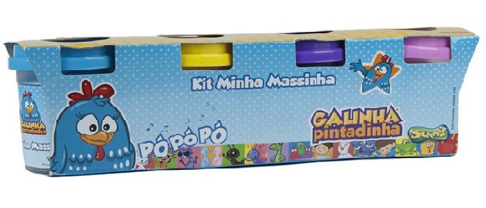 Kit Minha Massinha Galinha Pintadinha - Sunny