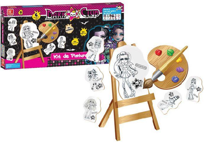 Kit Pintura Dark Club - Brincadeira de Criança