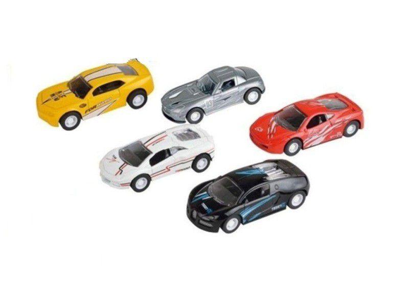 Kit Racing Club com 5 Carrinhos - Zoop Toys