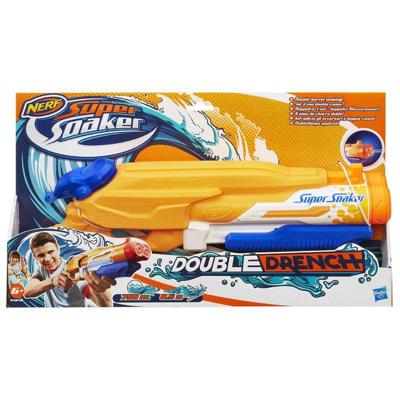 Lançador de Água Nerf Super Soaker Double Drench - Hasbro