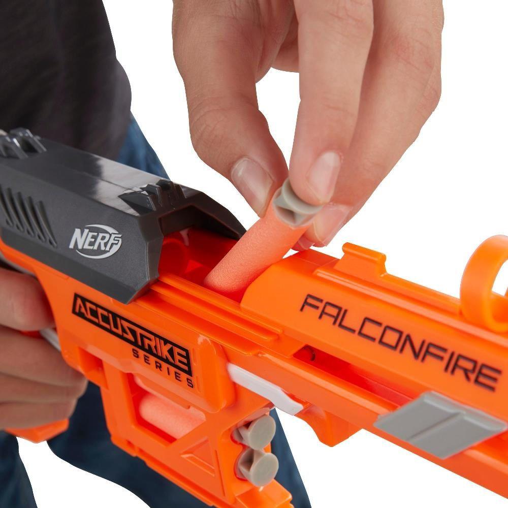 Lançador de Dardos Nerf N-Strike Elite Falconfire - Hasbro