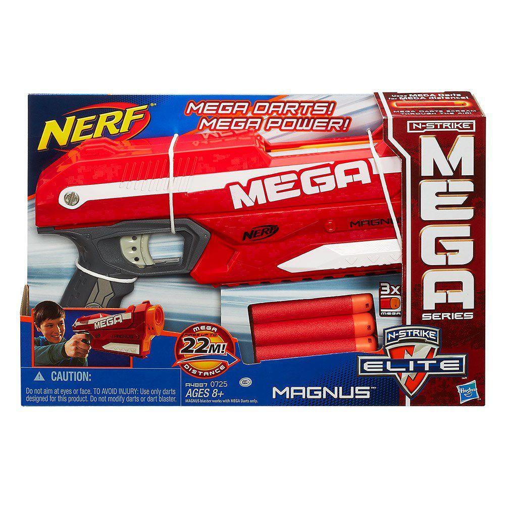 Lançador de Dardos Nerf N-Strike Elite Mega Magnus - Hasbro
