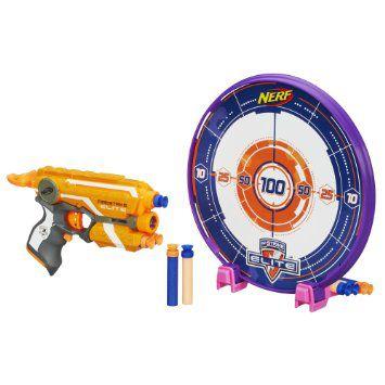 Lançador de Dardos Nerf N-Strike Elite Precision Target Set - Hasbro
