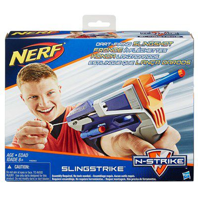 Lançador de Dardos Nerf N-Strike Elite SlingStrike - Hasbro