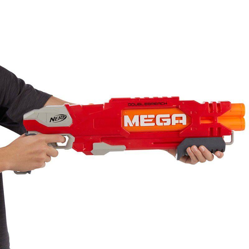 Lançador de Dardos Nerf N-Strike Mega Doublebreach - Hasbro