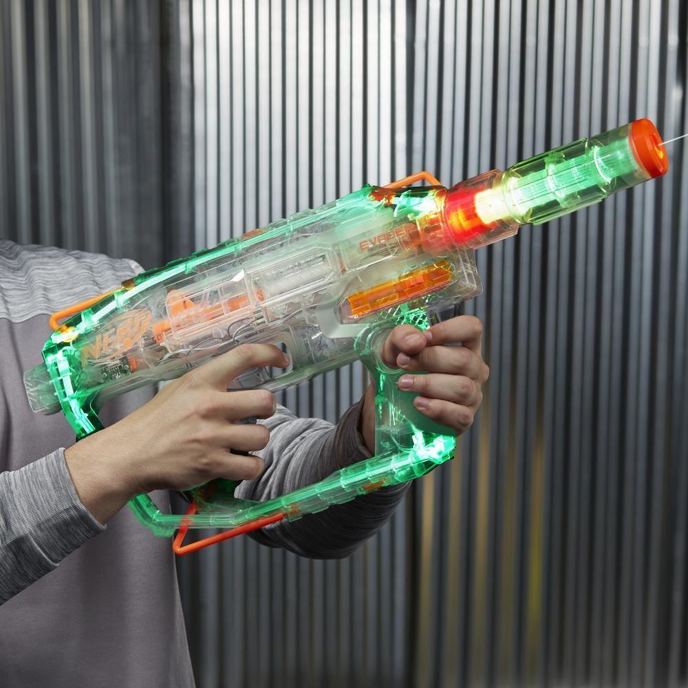 Lançador de Dardos Nerf N-Strike Modulus Ghost Ops Evader - Hasbro